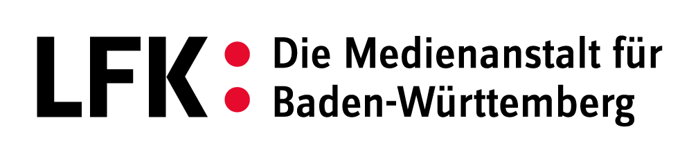 Das Logo der Landesanstalt für Kommunikation (LFK)